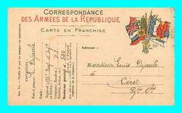A921 / 363  Correspondance Des Armées De La Republique - Guerra 1914-18