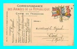 A921 / 367  Correspondance Des Armées De La Republique - Guerra 1914-18