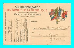 A921 / 377  Correspondance Des Armées De La Republique - Guerra 1914-18