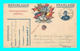 A921 / 381  Correspondance Militaire - Guerra 1914-18