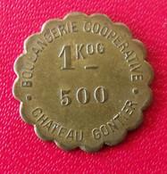 France. Jeton Boulangerie Coopérative Chateau Gontier 1KDG 500. Diam. 18 Mm - Monetary / Of Necessity