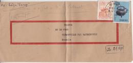 Taïwan, Lettre De Yang Meï Le 21 Juin 1962 Sur TP N° 338 (pagode) 392 (théière) - Briefe U. Dokumente
