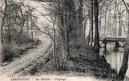 CPA   60   LIANCOURT---LA BRECHE---PAYSAGE---RARE ? - Liancourt