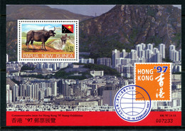 Papua New Guinea 1997 Hong Kong '97 Stamp Exhibition MS MNH (SG MS808) - Papua New Guinea
