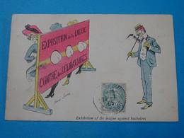 Illustrateurs ) Xavier Sager - Exposition De La Ligue Contre Les Célibataires : Année  1903 - EDIT - - Sager, Xavier