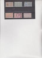 6 MARCHE DA BOLLO PER CONTRATTI DI BORSA TUTTE UNITE - Revenue Stamps