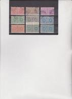 9  MARCHE DA BOLLO PER CONTRATTI DI BORSA TUTTE UNITE - Revenue Stamps