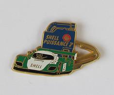 1 Pin's PORSCHE - 24H DU MANS / SHELL PUISSANCE 7 - Signé Arthus Bertrand Paris - Porsche