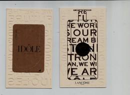 Carte Parfumée, Lancome, Idole Le Parfum, Nouveau - Modern (from 1961)