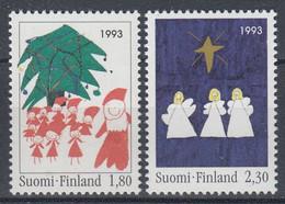 +Finland 1993. Christmas. Michel 1233-34. MNH(**) - Ungebraucht