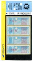 Plaquette De 4 Vignettes De Distribution Vendue En 1985 - GFD 77 - 1985 Papier «Carrier»