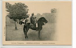 SOUDAN Cavalier Soudanais Sur Sur Cheval - Sénégal Soudan - Edit H Danel à Kayes  - 1910  D27 2018 - Sudan