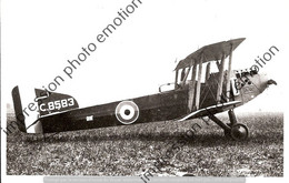 PHOTO RETIRAGE REPRINT AVION     ARMSTRONG WHITWORTH FK8 C8583 1918 - Aviation