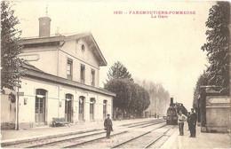Dépt 77 - POMMEUSE - La Gare De Faremoutiers-Pommeuse - (train) - Éditeur : Phototypie Rep Et Filliette, N° 1631 - Autres Communes