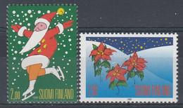 +Finland 1995. Christmas. Michel 1317-18. MNH(**) - Ungebraucht