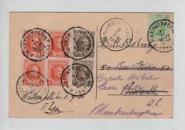 REF3267/ TP 190(4)-191(2) Houyoux - 277 S/CP Westmalle Dreef Naar De EE,PP. Trappisten C.Antwerpen 1/11/1931 > BXL > - Brieven En Documenten
