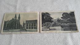 2 X SS Feldpost 1942 Postkarte - Covers & Documents