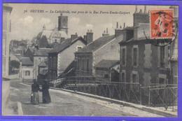 Carte Postale 58. Nevers  Rue  Pierre-Emile-Gaspart  Très Beau Plan - Nevers