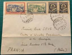 VATICAN - Lettre - N°125 + 7-8 - Cad 3/2/1948 - Cartas