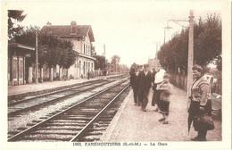 Dépt 77 - POMMEUSE - La Gare (de Faremoutiers-Pommeuse) - Photo-Édition E. Mignon, N° 1062 - Autres Communes