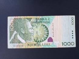 ALBANIE 1000 LEKE 2011 - Albania