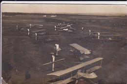 Ain Carte Photo Ambérieu En Bugey Avions Militaires De L'école D'aviation D'Ambérieu RARE UNIQUE Jamais Vue Delcampe - Otros Municipios