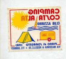 Autocollant  Camping Costa Alta - Stickers