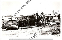PHOTO RETIRAGE REPRINT AVION  CRASH A IDENTIFIER - Aviazione