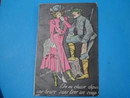 Illustrateurs ) Xavier Sager - ETRE EN CHASSE : Année  1905 - EDIT - BF - Sager, Xavier