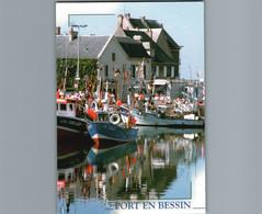 14 - Calvados - Port En Bessin - Cpm - Reflets Sur Le Port - Port-en-Bessin-Huppain