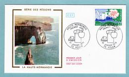 FDC France 1972 - Haute Normandie - YT 1992 - 76 Rouen - 1970-1979