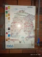 1 Stampa 1988 Citta Di Rivoli 50x70 - Otros