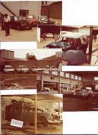 Autos PEUGEOT Au KENIA - Lot De 10 Photos - Autos Accidentées Au Garage - Auto's