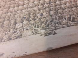 MAENNER IN DEUTSCHLAND DAZUMAL - BATAILLON MIT GEWEHREN UND LIEGENDEM HUND - 92. J.R. XII M BT 6 - Guerra, Militares