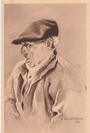 FOLKLORE BRETON  Illustré Par Scherbeck  Tête De De Bretagne. - Unclassified