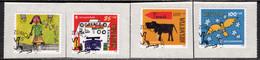 Switzerland 2006 Mi# 1986-1989 Used - Self-Adhesive - Pro Juventute / Children's Art Competition - Gebraucht