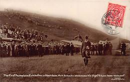 ABERDEEN 1st Aeroplane Exhibition Mr H.B. Hucks Announces 4,500 Feet Flight  - Publisher Holmes Silver City Series - Aberdeenshire