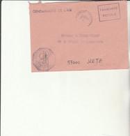 Z1 - Enveloppe Brigade  Gendarmerie De L'Air SAINTES      - En Franchise - - Bolli Militari A Partire Dal 1940 (fuori Dal Periodo Di Guerra)