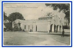 26955  CPA     Exposition De NANCY :  Caserne Des Pompiers Et Pavillon De L'Union Des Femmes De France  !! 1909 !! - Nancy