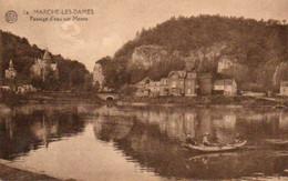 Marche-les-Dames Passage D'eau Sur Meuse  Circulé En 19??? - Namen