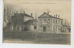 FENOUILLET - Mairie Et Ecoles - Altri Comuni