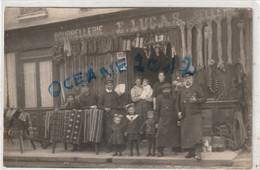 76 Gonneville La Mallet Carte Photo. Bourrellerie Lucas - Otros Municipios