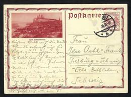 AUTRICHE 1934:  CP Entier De 10g Pour La Suisse - Interi Postali
