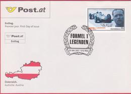 "FDC 2007 - Mi 2654 (2) , "" Formel 1 Legenden - Phil Hill "" , SST 1010 Wien - FDC"