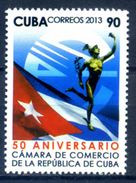 Cuba 2013 / Trade Commerce Hermes Flags MNH Comercio Negocios Banderas / Ho05  C1-6 - Ungebraucht
