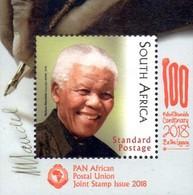 South Africa - 2018 Nelson Mandela Birth Centenary PAPU Joint Issue MS (**) - Gemeinschaftsausgaben