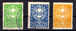 Croatia NDH Revenue Stamp; Bjelovar City, Used - Croacia