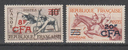 709 ** Reunion - 1953 - Olimpiadi Di Helsiki N. 368/369. Cat. € 137,00. SPL - Sommer 1952: Helsinki