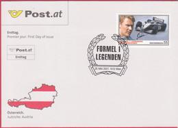 """FDC 2007 - Mi 2659 (3) , """" Formel 1 Legenden - Mika Häkkinen """" , SST 1010 Wien - FDC"""