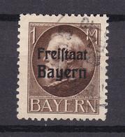 Bayern - 1919 - Michel Nr. 165 A - Gestempelt - Bavaria